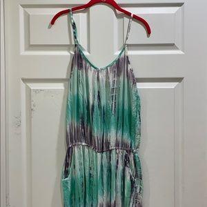 Ava Sky Hawaii Tie Dye Jumpsuit Romper M
